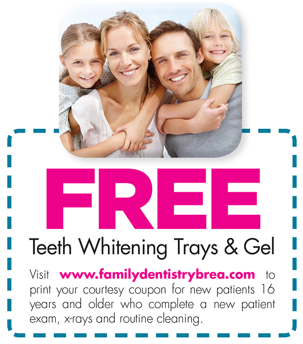 Free Teeth Whiting Tray and Gels